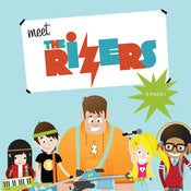 "Image of ""Meet The Rizers"" CD 5 Pack"