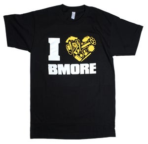 Image of I HEART BMORE by Nolen Strals
