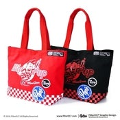 "Image of ""The Big Pop Checkerboard"" Tote Bag"