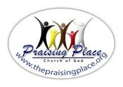 "Image of ""The Praising Place"" Car Magnet"