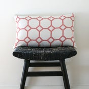 Image of MOSAIC Linen Cushion Cover 50 x 30 cm
