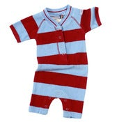 Image of elvis towelling romper, by Little Shrimp
