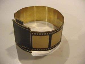 Image of Camera Film Bracelet