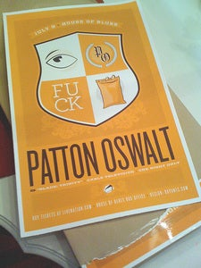 "Image of Patton Oswalt ""Oswalt Family Crest"" Poster"