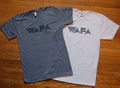 Image of WAFA logo tees 