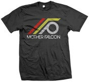 Image of Mother Falcon Logo Tee Men (Black)