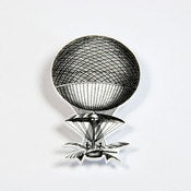 Image of BROOCH - the balloon: up, up and away