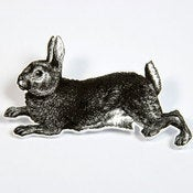 Image of BROOCH - the rabbit: run peter