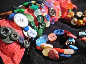 Image of L.E.'s Button Bracelets