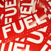 Image of Fuel Magazine Masthead Sticker