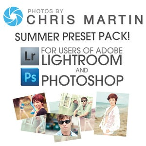 Image of 2011 Summer Preset Pack for Lightroom 3 and Photoshop!