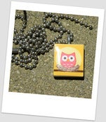 Image of Home Sweet Hoot Scrabble Tile Pendant