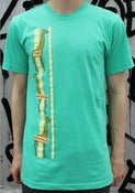 Image of Guys Mint Giraffe Tee