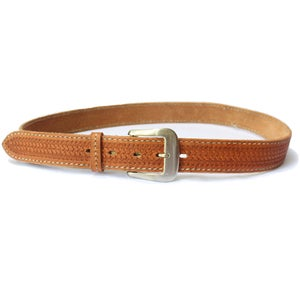 Image of Basket Weave Stitch Belt