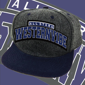 Image of WE5TERNV1BE All-Stars Vintage Snapback