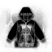 Image of 'The Judases Amongst Us' Black Zip Up Hoodie