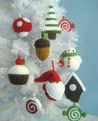 Image of Knit Christmas Ornaments Pattern