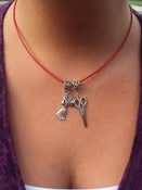 Image of Go Red Necklace (majority of profits donated to AHA)