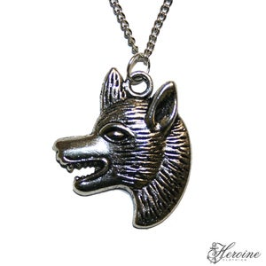 Image of Wolf Head Necklace