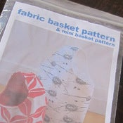 Image of Fabric Basket Pattern