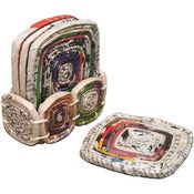 Image of Recycled Paper Coasters