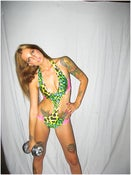 Image of Green Leopard Love me Trikini