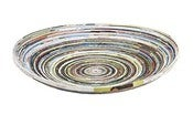 Image of Recycled Coiled Paper Bowl