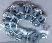 Image of Recycled Poptab bracelet