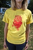 Image of Little Heart Records T-Shirt: Hearts Are Never Bulletproof