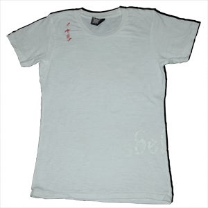 Image of White - Believe Shirt w/ Bird Logo