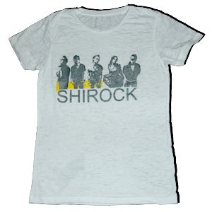 "Image of SHIROCK Band Image on ""Burnout"" Vintage Shirt"