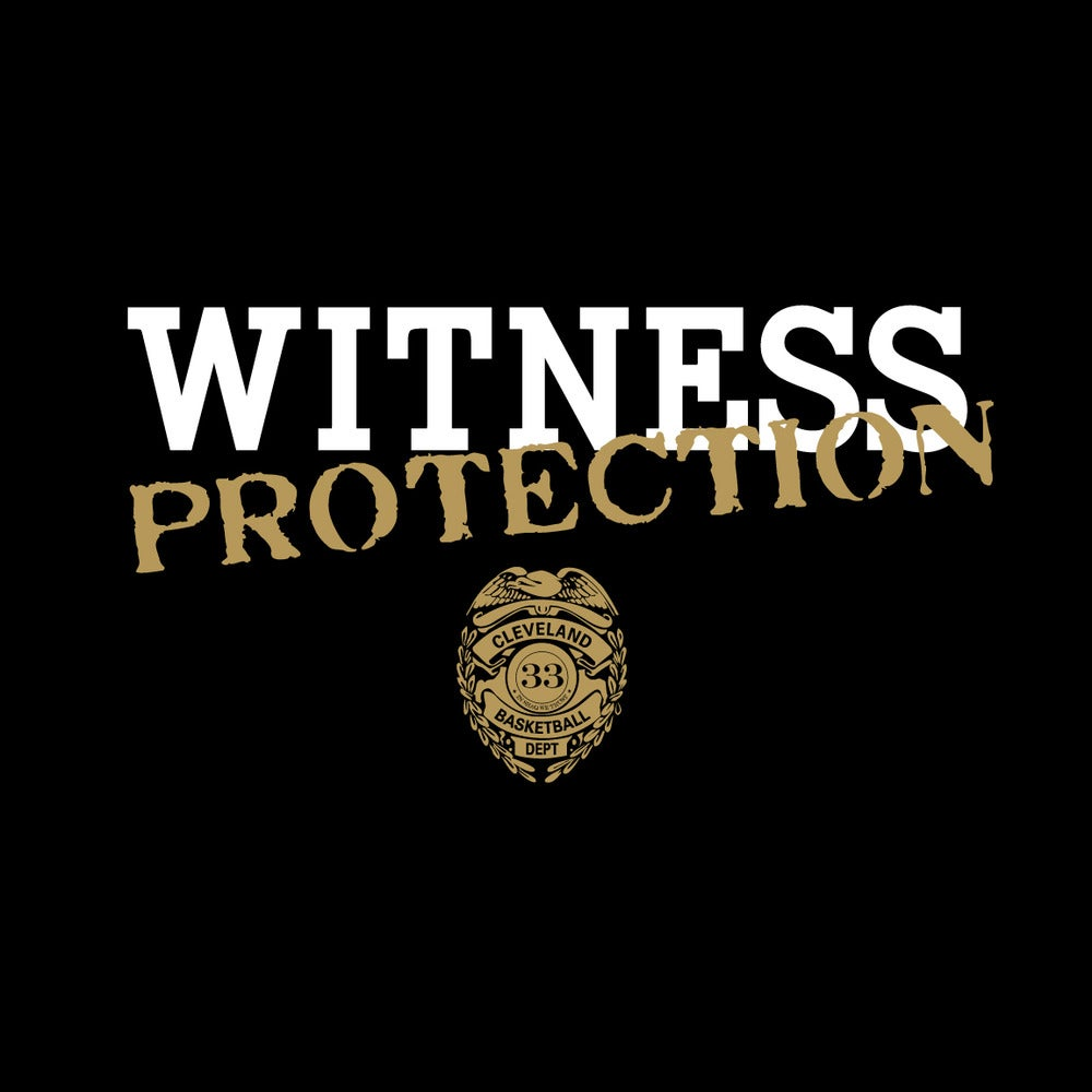 Witness Protection 33 Witness Protection 33 T Shirt Black
