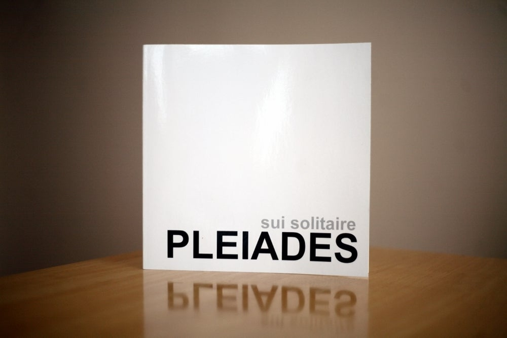 Image of PLEIADES. Limited Print Edition
