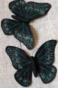 Image of Handmade Fabric Butterfly/Moth Ornament