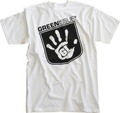 Image of GreenIssue Logo Tee WHITE