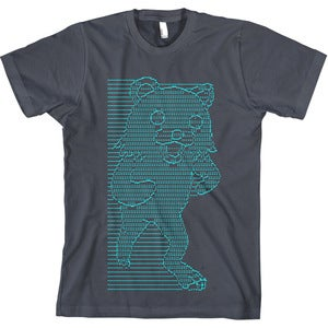 Image of mr friendly (pedo bear ascii art tee)