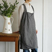 Image of Fog Linen Cross Apron