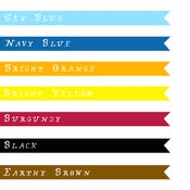 Image of Any Colour Ribbon Necklace - 16 inches