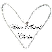 Image of Silver Plated Chain Necklace