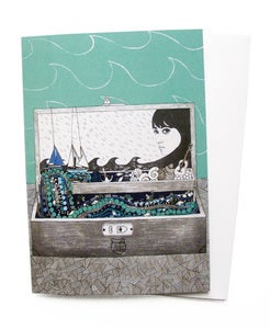 Image of Greetings Cards - I've Been to Sea Before (Pack of 3)