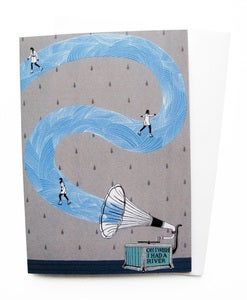 Image of Greetings Cards - I Wish I Had a River (Pack of 3)