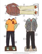 Image of Boy Fall Outfit Line - Print It Yourself