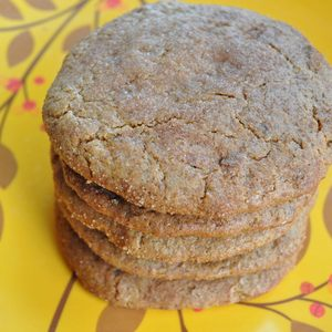 Image of ginger spice cookie