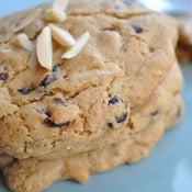 Image of cranberry almond cookie