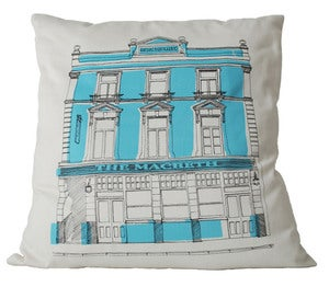 Image of East End Pub Crawl Cushion, MACBETH