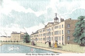 Image of Piccadilly Hospital, Manchester giclee print