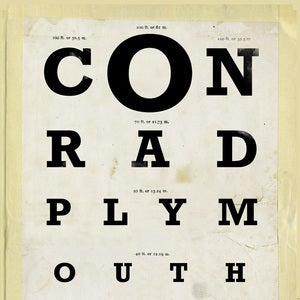 "Image of Conrad Plymouth 10"" Clear Vinyl"