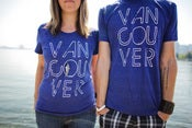 Image of Vancouver, we love you T-shirt (Indigo)