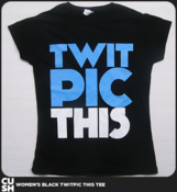 Image of Twit Pic This Womens (Black)