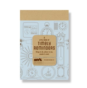 Image of Timely Reminders Jotter